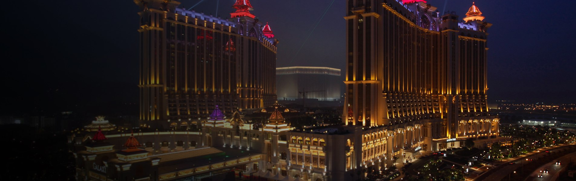 Galaxy Cotai Mega Resort Casino Macau 1
